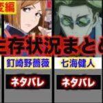 【呪術廻戦】渋谷事変での生存状況まとめ2021年2月【最新】