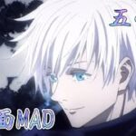 【MAD】3画面×呪術廻戦  五条悟  #shorts