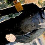 TVアニメ『呪術廻戦』ノンクレジットOPムービーの花束を持った五条悟 どこいくの?の姿を描いてみた Drawing Satoru Gjyou[ Jujutsu Kaisen]