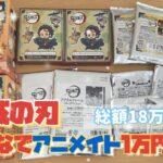 【鬼滅の刃】みんなでアニメイト1万円企画🌟総額18万円!?!?🌟ジェイホビTVさん企画🌟