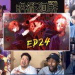🔥🔥🔥Jujutsu Kaisen Episode 24 Reaction Mashup | 呪術廻戦 24話【海外の反応】