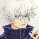 呪術廻戦 五条悟 描いてみた Jujutsu Kaisen Satoru Gojo drawing