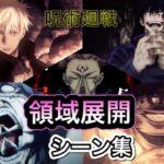 【呪術廻戦】領域展開シーン集 JujutsuKaisen DomainExpansion