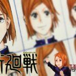 Drawing Nobara Kugisaki in Different Anime Styles | Jujutsu Kaisen #呪術廻戦