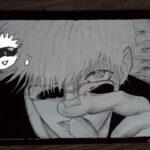 Drawing Satoru Gojo in ink style 「呪術廻戦」五条悟る 描いてみたい – JUJUTSU KAISEN