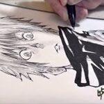 【呪術廻戦】五条悟 描いてみた! Jujutsu Kaisen I drew Gojo Satoru!