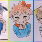 [ティックトック絵] ❤️呪術 廻 戦 ティック トック   Jujutsu Kaisen Painting Tik Tok 💯Japanese Art Style #35