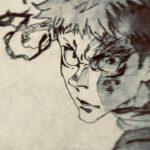 【呪術廻戦】シャーペンで虎杖描いてみた。【手描き】