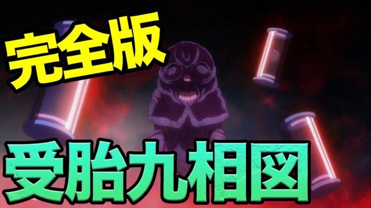 【呪術廻戦考察】閲覧注意!九相図三兄弟の真実
