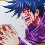 Drawing Fushiguro Megumi – Domain Expansion | Jujutsu Kaisen 呪術廻戦
