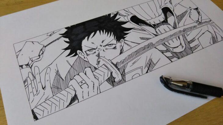 【呪術廻戦】 乙骨憂太 祈本里香 描いてみた。Drawing JUJUTSU KAISEN