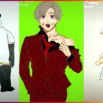 [ティックトック絵] ❤️呪術 廻 戦 ティック トック | Jujutsu Kaisen Painting Tik Tok 💯Japanese Art Style #66