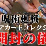 【呪術廻戦】狗巻狙いでクリアカードコレクションを開封!!【開封の儀】