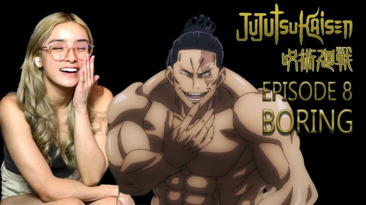 Aoi Todo Jujutsu Kaisen Anime Reactions Episode 8 Boring   呪術廻戦 退屈