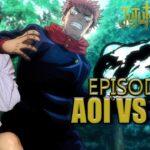 Yuji vs Aoi Jujutsu Kaisen Anime Reactions Episode 15 Team Battle 1  呪術廻戦  京都姉妹校交流会 -団体戦 1