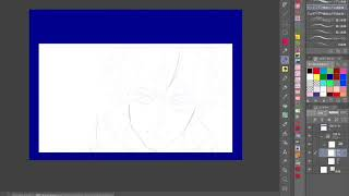 既存キャラクター練習:呪術廻戦 五条悟【10年目アニメーターの練習動画】Training of animator