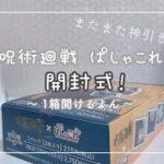 呪術廻戦🤞🏻 ぱしゃこれ 1BOX 開封 作業用動画の感覚で気長に見てください。