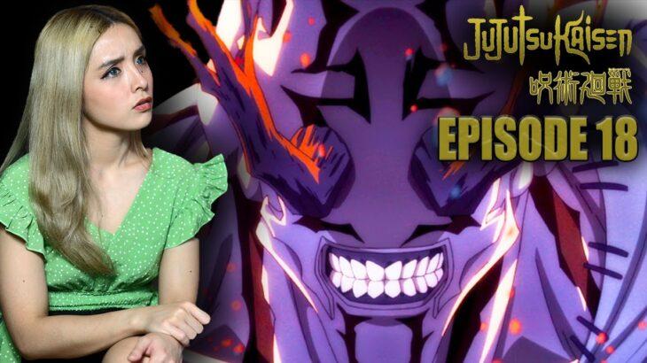 Hanami | Jujutsu Kaisen Anime Reactions Episode 18 Sage  呪術廻戦  賢者