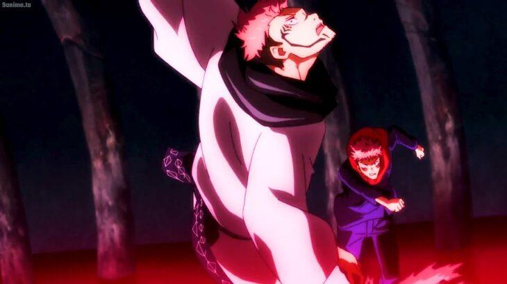 呪術廻戦    虎杖の恐ろしい力が呪いの支配者宿儺の顔を破壊して生命を取り戻す、宿儺の呪いの支配者の契約、Itadori destroys the face of curse ruler Sukuna