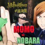 Momo vs Nobara Jujutsu Kaisen Anime Reactions Episode 17  呪術廻戦  京都姉妹校交流会 -団体戦 3