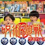 【呪術廻戦】ウエハース2開封!こうたん3歳はちゃめちゃですWWW【TAI-KUN・KOU-KUN】