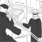 【呪術廻戦】五条先生と虎杖でセッション【手描き】