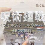 【呪術廻戦】ディフォルメシールウエハースを1BOX開封したらまさかの神引き?!※久しぶりでぐだぐだです💦