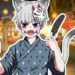 【呪術廻戦・猫化・幼児化】棘が猫&幼児化してお祭りに行ったら!?【LINE・声真似・狗巻棘】