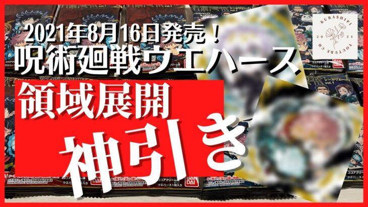【呪術廻戦】新発売の呪術廻戦ディフォルメシールウエハース開封してみたら驚愕の結果に!!!