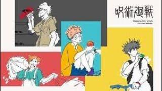 <呪術廻戦>JINSと初コラボ 五条先生、七海建人、禪院真希のメガネ パンダのメガネケースも